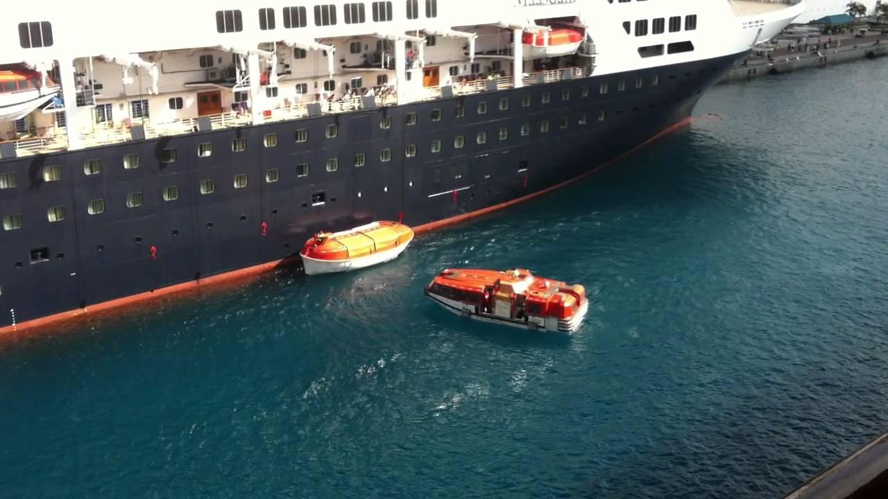 Cruise Ship Safety Cruise Ship Life Boat Wreck