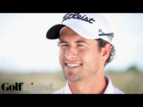 Adam Scott on Adam Scott