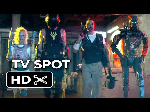 Chappie TV SPOT - New Robot (2015) - Hugh Jackman, Dev Patel Robot Movie HD