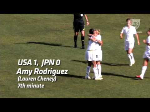 March 2, 2011: WNT vs. JPN - Amy Rodriguez Goal