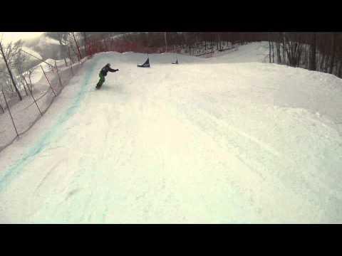Snowboardcross FIS Tremblant 2011