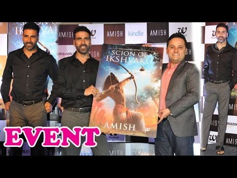 Akshay Kumar at a book launch event | Gabbar Movie
