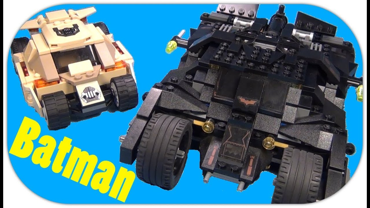 lego batman bane tumbler comparison 2008 vs 2013 lego dc. Black Bedroom Furniture Sets. Home Design Ideas