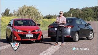 Toyota Yaris Hatch y Sedán 1.5 CVT - Test doble - Matías Antico - TN Autos