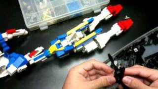 Playing with LEGO : 140-XX00 minutes(2x speed)  transformation Proto
