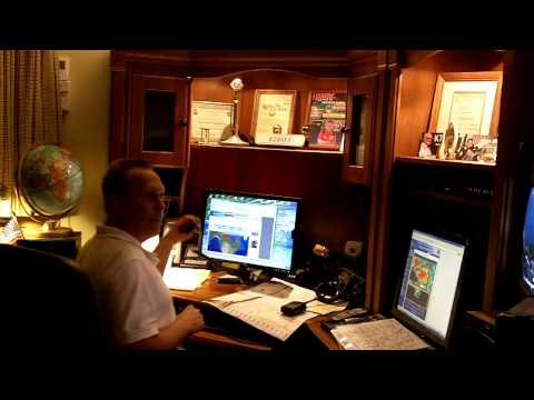 Storm Watch Operations In Albert Lea Freeborn County, MN (6-17-2010)