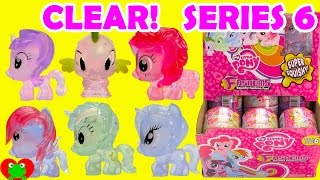 My Little Pony Fashems SERIES 6 Clear Ponies