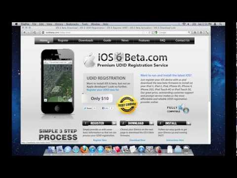 How to Download and Install iOS 6 Beta - iOS 6 UDID Registrations - www.iOS6Beta.com