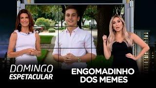 """Domingo Espetacular desvenda a origem do """"engomadinho dos memes"""""""