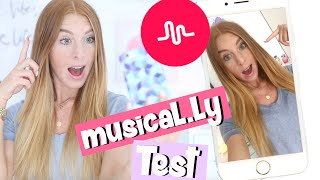MEIN ERSTES MUSICAL.LY !! Totaler Fail oder cool? Musical.ly im Test | LaurenCocoXO