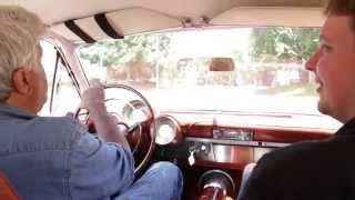 Jay Leno Driving His Chrysler Turbine Car
