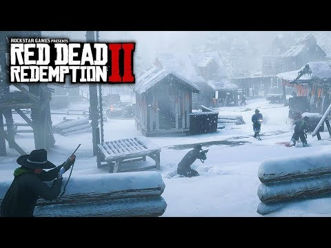 Red Dead Redemption 2 - NEW IMAGES & INFO! Boats, Huge City, Heists, Gameplay Features & More!