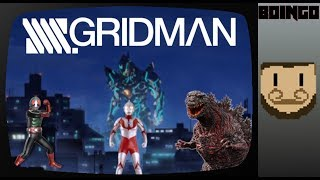 SSSS.Gridman and the Tokusatsu Techniques it Uses