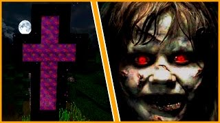 HOW TO MAKE A PORTAL TO THE EXORCIST DIMENSION - MINECRAFT HORROR