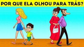 15 DESAFIOS CEREBRAIS E CHARADAS QUE VÃO CONFUNDIR A SUA MENTE