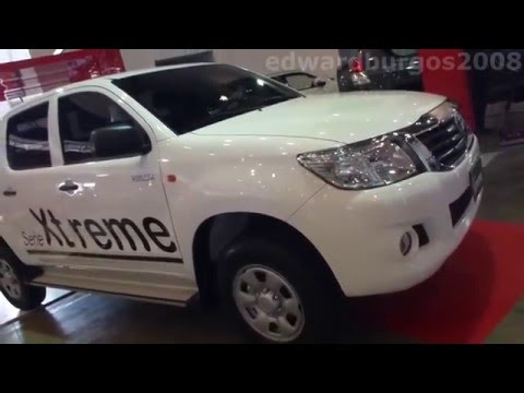 2014 Toyota Hilux extreme 2014 video review Caracteristicas versión Colombia