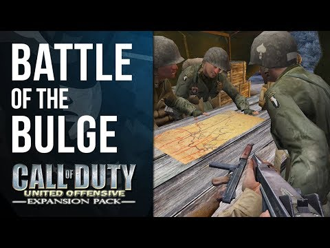 THE BATTLE OF THE BULGE   Call of Duty: United Offensive Playthrough #1
