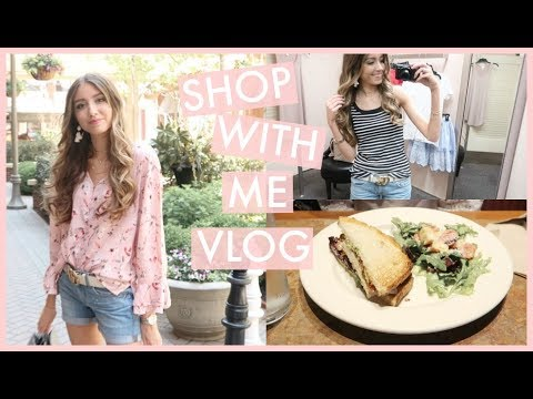 SHOP WITH ME VLOG! Nordstrom Try-On, Lunch, + Starbucks!