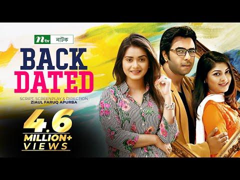Bangla Telefilm Backdated I Apurbo, Sarika, Tisha I Drama & Telefilm