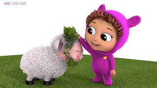 Baa Baa Black Sheep | Colors | Educational | Finger Family Song