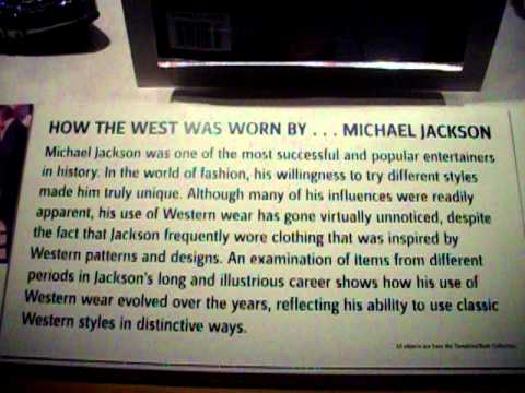 ~*~The Autry Museum: MJ How the West was Worn~*~