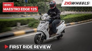 Hero Maestro Edge 125 2019 Review | Launch, Price, Specs, Features and more | ZigWheels.com
