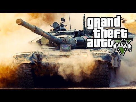 GTA 5 ONLINE: HOW TO STEAL A TANK! - GET A TANK FOR FREE (EASIEST METHOD!) [GTA V MULTIPLAYER]