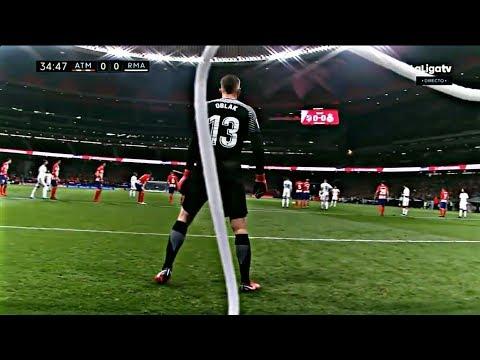 JAN OBLAK VS. REAL MADRID | GOALKEEPER SAVES | DERBY | 18-11-17 | HD | thumbnail