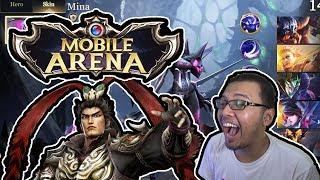 Susah Juga KSnya Pakek Hero Ini! wkwkwk - Mobile Arena Gameplay Indonesia!