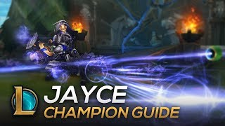 Jayce Guide: Mechanics, Combos, Tips and Tricks | PKB Dovah