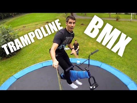 БАТУТ - БАЙК (Trampoline BMX) | БУДНИ ШОУМЕНА #3
