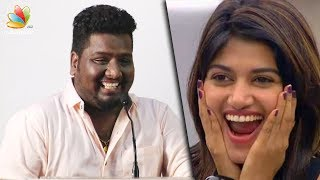 RJ Vignesh praises OVIYA at Meesaya Murukku Success Meet | Comedy Speech