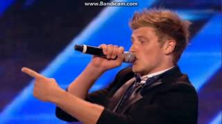 out of the blue - xfactor arena audition