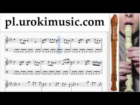 Nauka Gry Na Flecie Prostym (Niemiecki) Ed Sheeran - Perfect Nuty Poradnik Um-i463