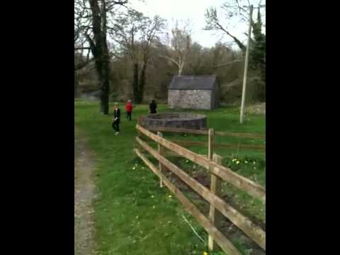 Castle Durrow grounds walk - down by the Erkina river Video