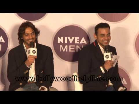 Arjun Rampal Launched Nivea's Men Range