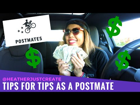 POSTMATES REVIEW - How to Make Money Full Time