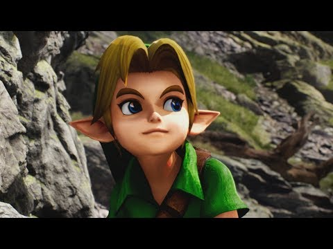 Unreal Engine 4 [4.18.1] Kite Demo / Link Cutscene