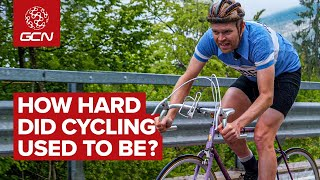 How Hard Did Cycling Use To Be? | Modern Cyclist, Retro Bike, Classic Climb