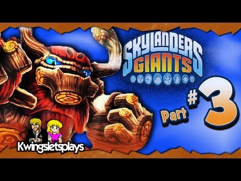 Skylanders Giants - Skylanders Giants Walkthrough Part 3 Down at Rumbletown! (Wii U)