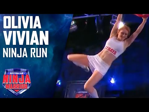 Olivia Vivian Full Run | Australian Ninja Warrior 2017