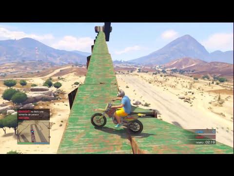 EL SALTO IMPOSIBLE!!! - Gameplay GTA 5 Online Funny Moments