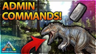 How To Use Admin Commands - Ark Survival Evolved (Xbox One, PS4 & PC) UPDATED!