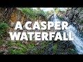Hiking Garden Creek Falls at Rotary Park in Casper Wyoming