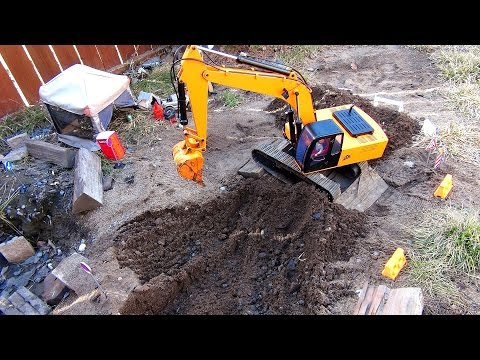 RC ADVENTURES - 1/12 Scale Earth Digger 4200XL Hydraulic Excavator