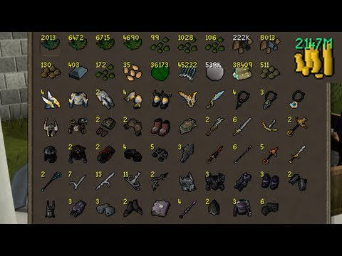 Selling My GWD Tab - Biggest PvM Tab ever?