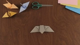 How To Make An Origami Bat : Simple &amp; Fun Origami