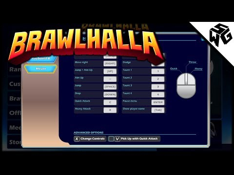 My Brawlhalla Controls - Keyboard and Mouse