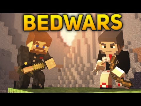 Minecraft BedWars #66 - ПОБЕДИЛИ ЧИТЕРА!