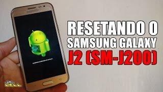 Resetando/Formatando o Samsung Galaxy J2 SM-J200